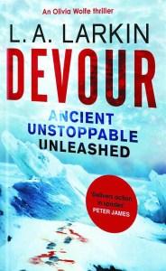 devour book cover slanted