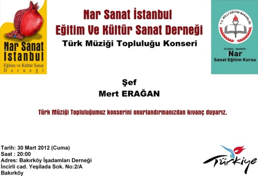Nar Sanat Türk Müziği Topluluğu Konseri