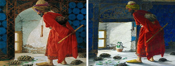 Sanat Tarihine Dair Kaplumbağa Terbiyecisi