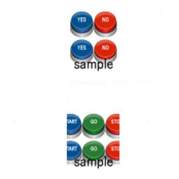 文字入りボタン 画像フリー素材集|無料素材倶楽部
