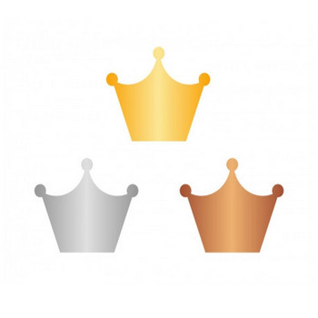 王冠マーク・アイコンイラスト素材 | イラスト無料・かわいいテンプレート