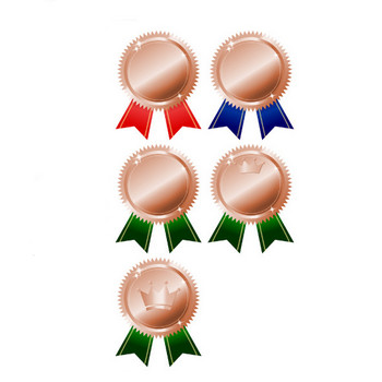 銅メダルリボン付 画像フリー素材|無料素材倶楽部