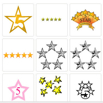 5 Star Image - ClipArt Best