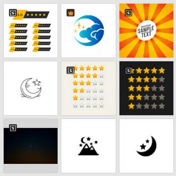 星 半分 に関するベクター画像、写真素材、PSDファイル | 無料ダウンロード