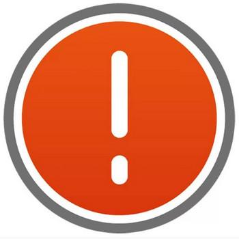 アイコン 注意(ボタン・!・びっくりマーク・赤) – 無料で使えるイラスト素材・PowerPointテンプレート配布サイト【素材工場】