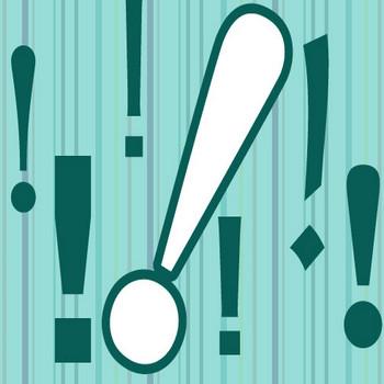 [イラレに便利]びっくりマークをいろんなフォントで並べてみたよ exclamation mark – Factory70 Blog