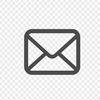 メールの無料アイコンその8 | アイコン素材ダウンロードサイト「icooon-mono」 | 商用利用可能なアイコン素材が無料(フリー)ダウンロードできるサイト
