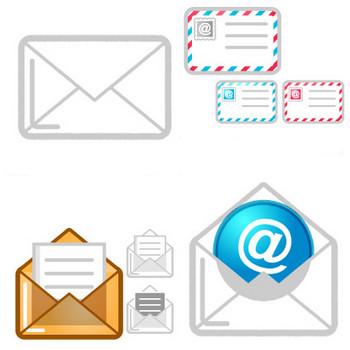 メールのイラスト|かわいいフリー素材、無料イラスト|素材のプチッチ