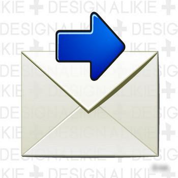 メール(転送)のイラスト素材|dakIMG