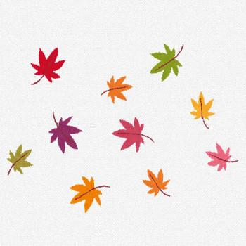 紅葉のイラスト「沢山のもみじ」 | かわいいフリー素材集 いらすとや