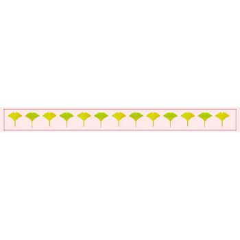 かわいいブログパーツ:イチョウのブログパーツセット(500系新幹線が走る)