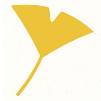 銀杏(いちょう)の葉 | 動物・季節・食べ物のフリーイラスト素材ならぴくらいく