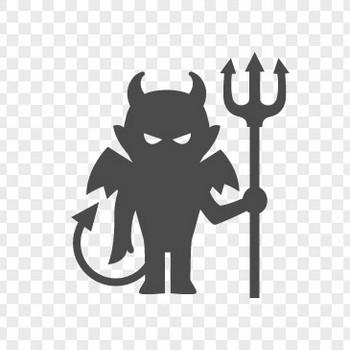 悪魔のフリーイラスト3 | アイコン素材ダウンロードサイト「icooon-mono」 | 商用利用可能なアイコン素材が無料(フリー)ダウンロードできるサイト