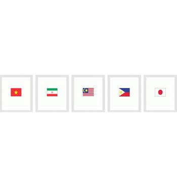 TADA ira[タダイラ]全てのイラストを無料(タダ)で提供:国旗イラスト>アジア