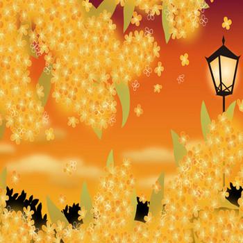 金木犀 - 素材【イラスト】 - 彩クリWEB