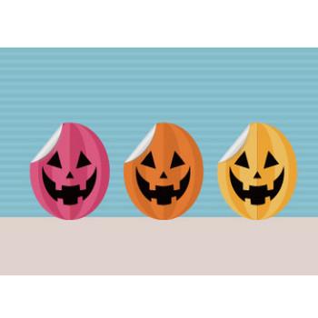 ハロウィンのかぼちゃ イラスト 3 | EC design(デザイン)
