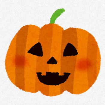 ハロウィンのイラスト「かぼちゃのランタン1」 | かわいいフリー素材集 いらすとや
