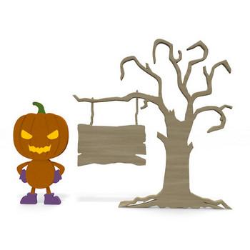 キャラクター/ハロウィン/かぼちゃ|イラスト|クリップアート|無料|ハロウィン|ハロウィーン