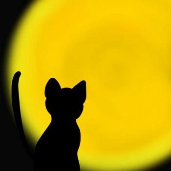 猫のシルエットイラスト集 | ドラゴンブ