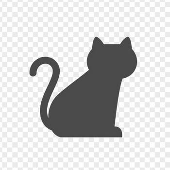 黒ネコのフリーアイコン | アイコン素材ダウンロードサイト「icooon-mono」 | 商用利用可能なアイコン素材が無料(フリー)ダウンロードできるサイト