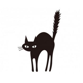 黒猫 フリー素材のイラスト 画像集めてみた