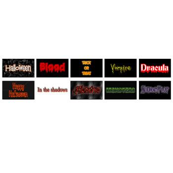 FlamingText.com: Halloween Logo's and Text