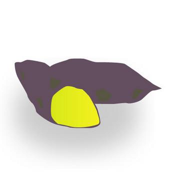 焼き芋(やきいも)│無料クリップアート Drawing