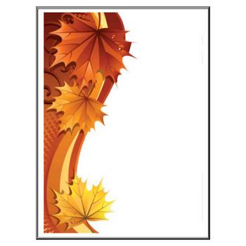 葉っぱや草木のイラスト/壁紙・背景No.024『秋の色・紅葉・かえで』