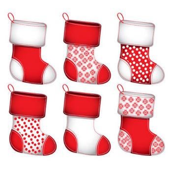 クリスマスの靴下の無料イラスト|AI・EPSの無料イラストレーター素材なら無料イラスト素材.com