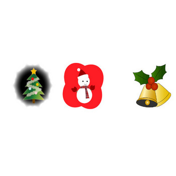 クリスマスの無料イラスト