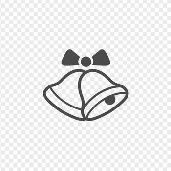 クリスマスベルのフリーイラスト8 | アイコン素材ダウンロードサイト「icooon-mono」 | 商用利用可能なアイコン素材が無料(フリー)ダウンロードできるサイト