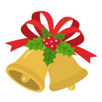 クリスマスベル - イラスト素材 | 商用利用可のベクターイラスト素材集「ピクト缶」