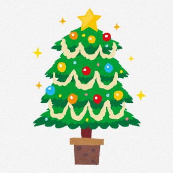 クリスマスツリーのイラスト | かわいいフリー素材集 いらすとや