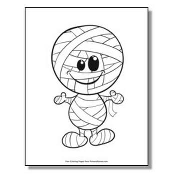 Halloween Coloring Pages | Printable Coloring eBook - PrimaryGames