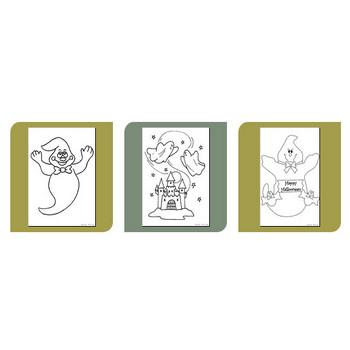 パーティーやイベント / ハロウィン / 幽霊 | ぬりえ - Nurie.NET