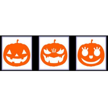ハロウィンかぼちゃの型紙ダウンロード HappyHalloween   最北の海鮮市場