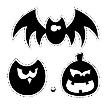 Paper Crave Halloween Freebies : Halloween Garland Two Ways - Paper Crave