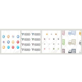 ドットミニリストアイコン   WEBデザイナーが作った0円の素材集