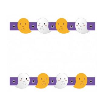 ハロウィン・お化けのフレーム・枠素材02 | イラスト無料・かわいいテンプレート