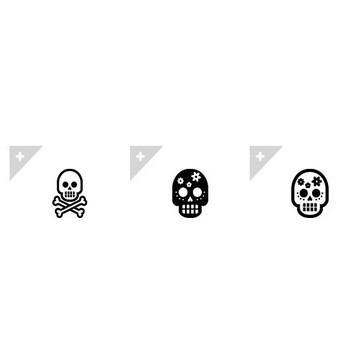 骸骨 | アイコン素材ダウンロードサイト「icooon-mono」 | 商用利用可能なアイコン素材が無料(フリー)ダウンロードできるサイト