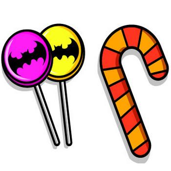 ハロウィン/ハロウィンのお菓子のイラスト | 子供と動物のイラスト屋さん わたなべふみ