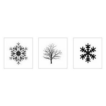 冬 シルエット イラストの無料ダウンロードサイト「シルエットAC」