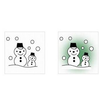 ワード・エクセル・パワーポイントで使える雪だるまのイラスト