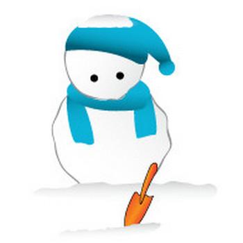 無料 WEB素材 イラスト 冬/雪だるま