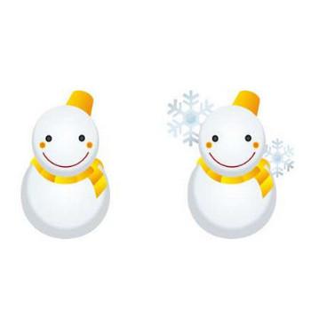 雪の日のお天気イラスト-無料ビジネスイラスト素材のビジソザ