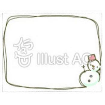 雪だるまイラスト/無料イラストなら「イラストAC」
