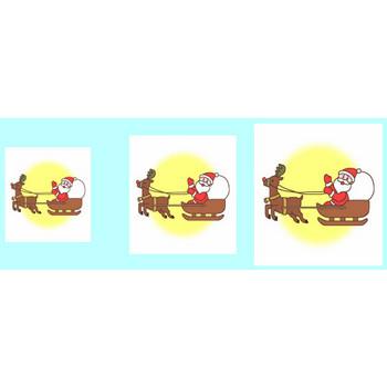 サンタクロース2/クリップアート(web用イラスト素材)/クリスマス素材サンタ館