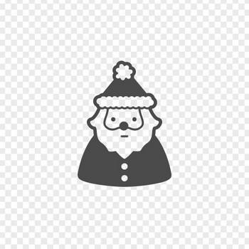 サンタクロースのフリーイラスト7 | アイコン素材ダウンロードサイト「icooon-mono」 | 商用利用可能なアイコン素材が無料(フリー)ダウンロードできるサイト
