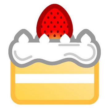 ショートケーキのイラスト|フリー素材|素材のプチッチ