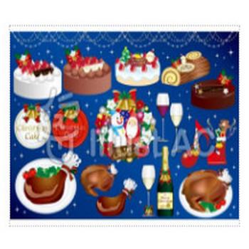 クリスマスケーキイラスト/無料イラストなら「イラストAC」